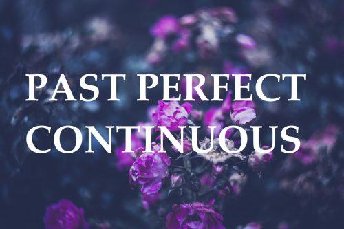 Nauka języka angielskiego - blog - Past Perfect Continuous