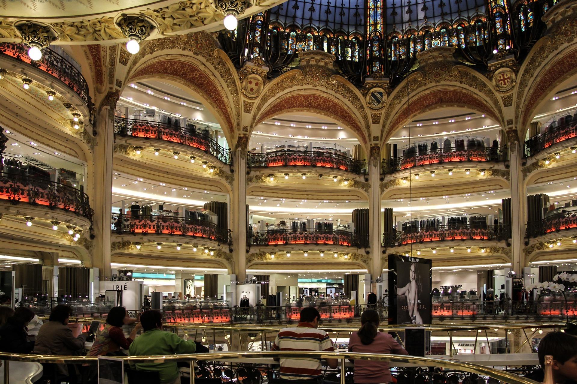 Blog o nauce angielskiego - Nauka angielskiego online - Czytanie po angielsku - The Galeries Lafayette