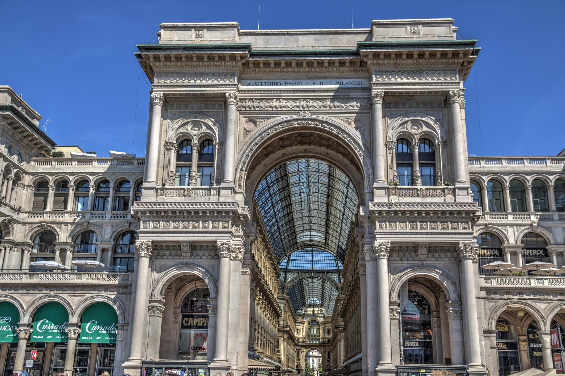 Blog o nauce angielskiego - Nauka angielskiego online - Czytanie po angielsku - The Galleria Vittorio Emanuele II